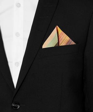 Artist Stripe Dip Dye Clash Pocket Square