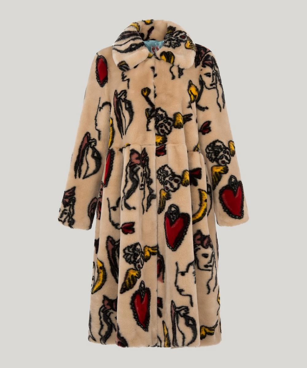 5639f23aa5 Eilis Faux Fur Coat