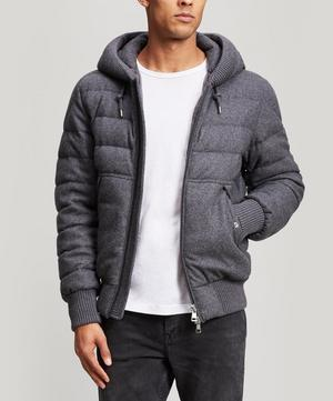 Renoir Quilted Wool and Cashmere-Blend Jacket