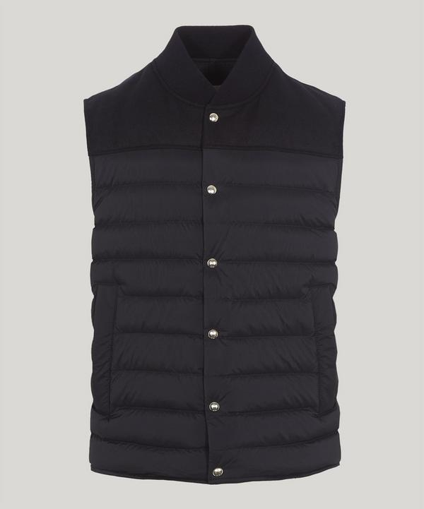 Pollux Mix Fabric Padded Gilet