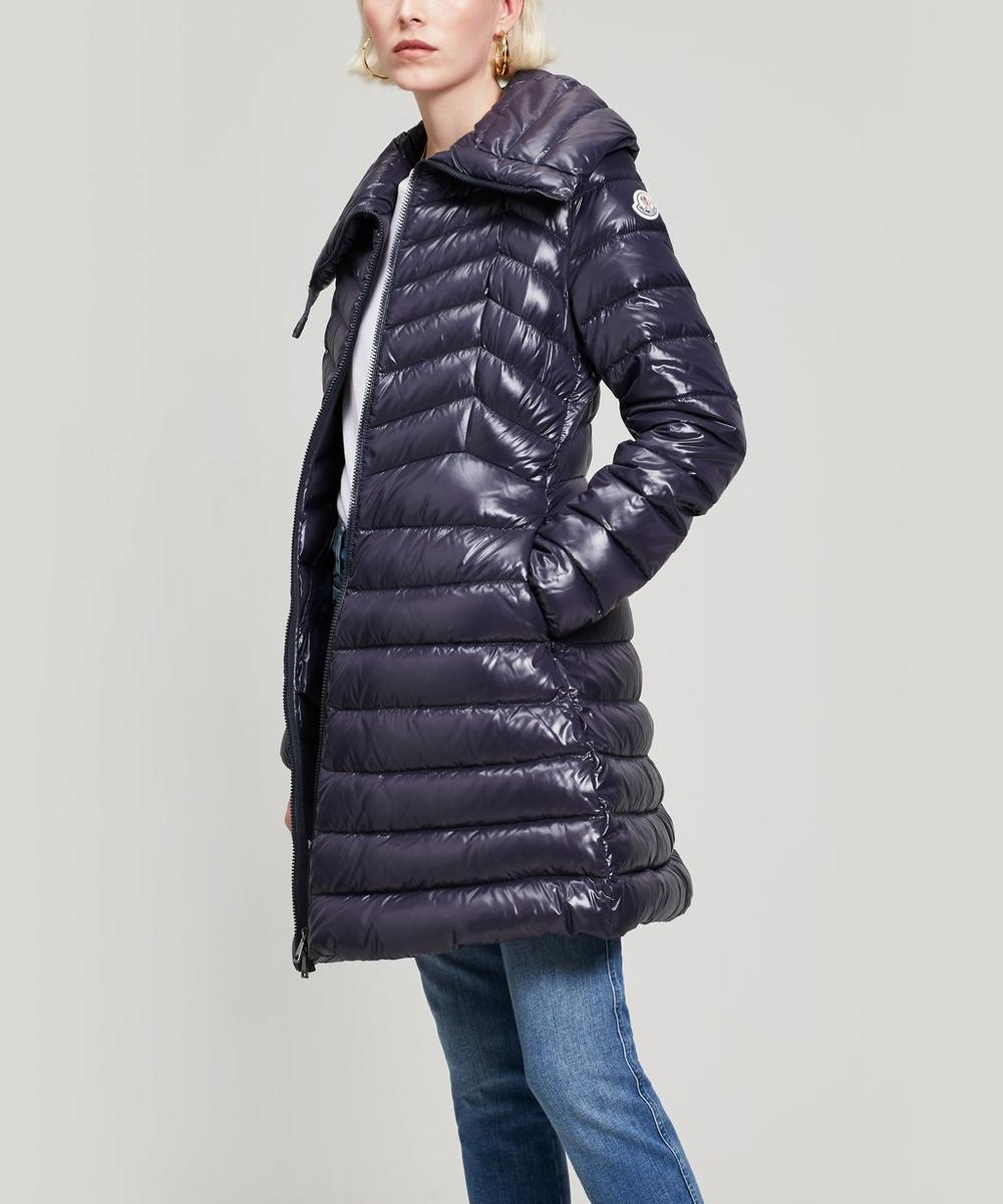 Laque Cinch Waist Puffer Jacket
