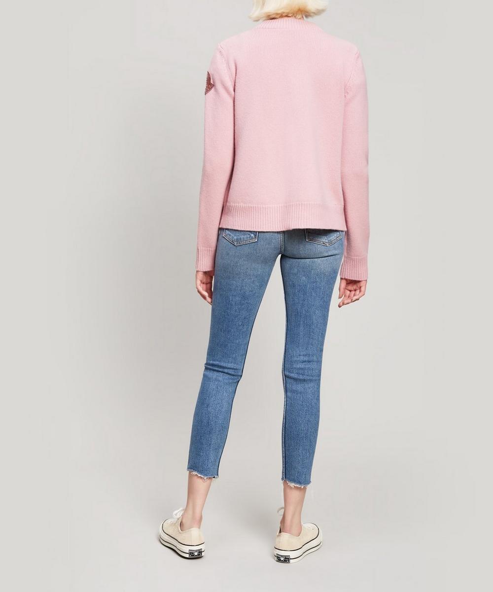 95b55fb1a Knitted Velvet Jacket