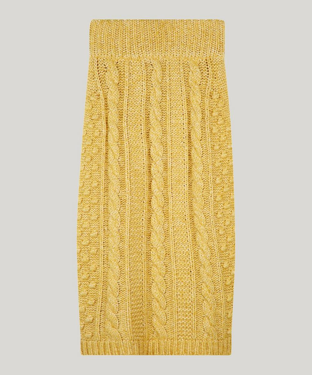 Alexa Chung CABLE KNIT PENCIL SKIRT