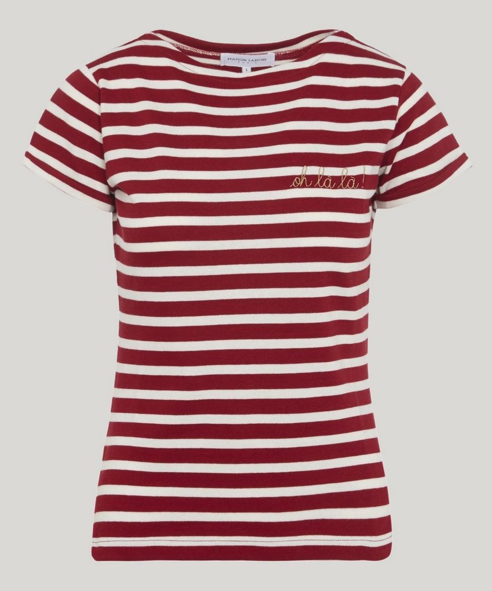 Maison Labiche OH LA LA STRIPED T-SHIRT
