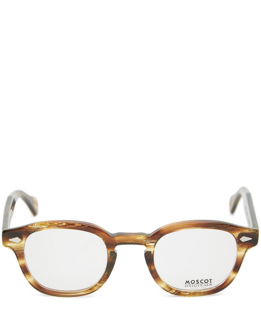 MOSCOT Lemtosh Tortoiseshell Optical Frames in Brown