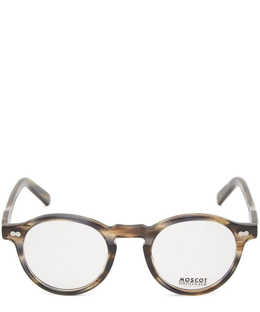 MOSCOT Miltzen Optical Frames in Brown