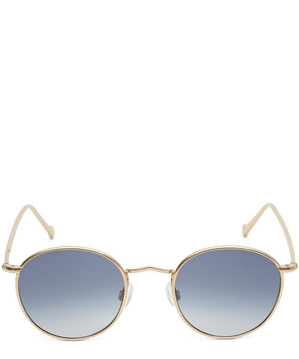Zev Thin Round Sunglasses
