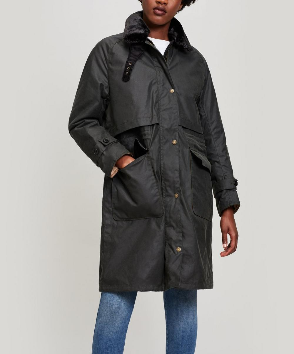 Barbour FLOREE WAXED JACKET