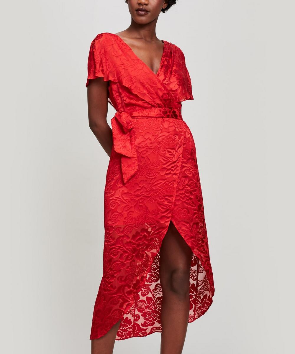 Darva Midi Dress