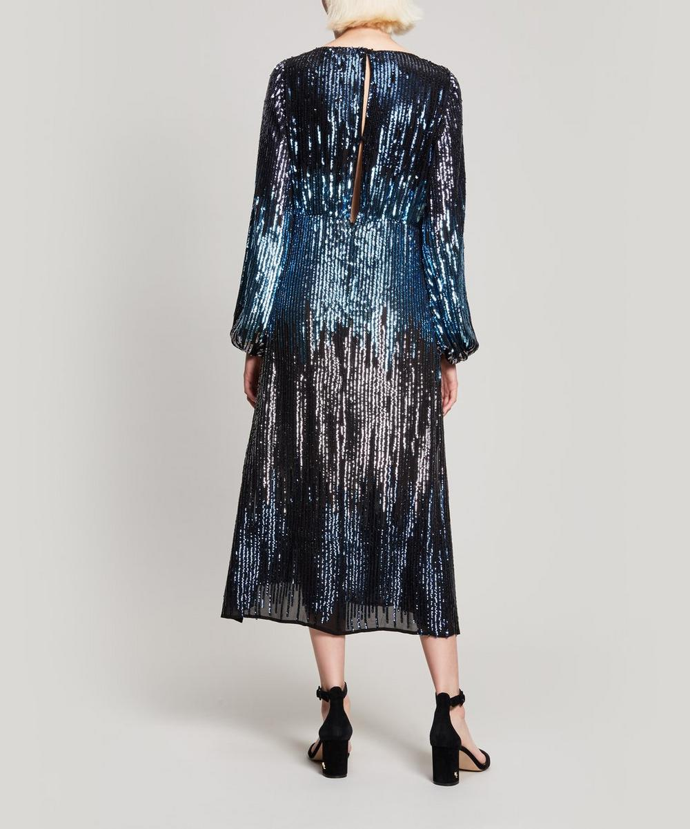 Coco Ombré Sequin Midi Dress