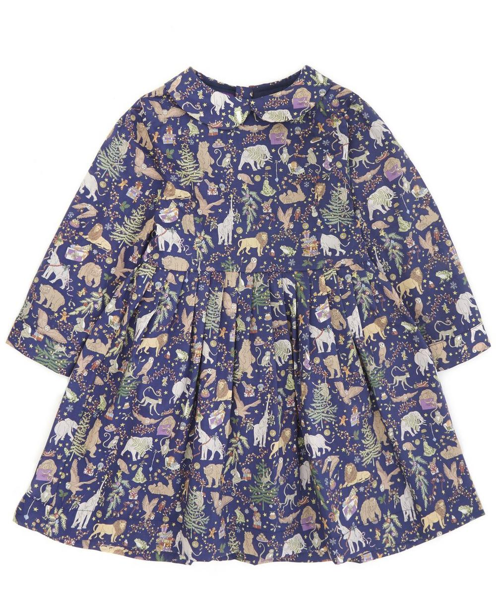 Liberty Christmas Long Sleeved Dress 2-10 Years