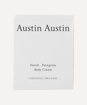 Neroli and Petitgrain Body Cream 120ml