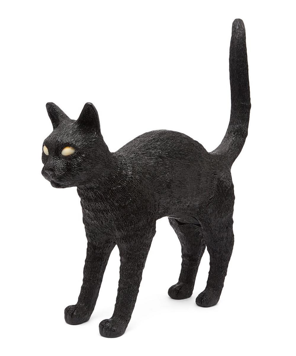 Jobby the Cat Resin Table Lamp