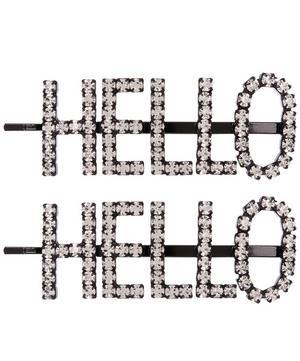Hello Hair Pins