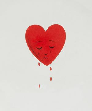 Crying Heart Saucer