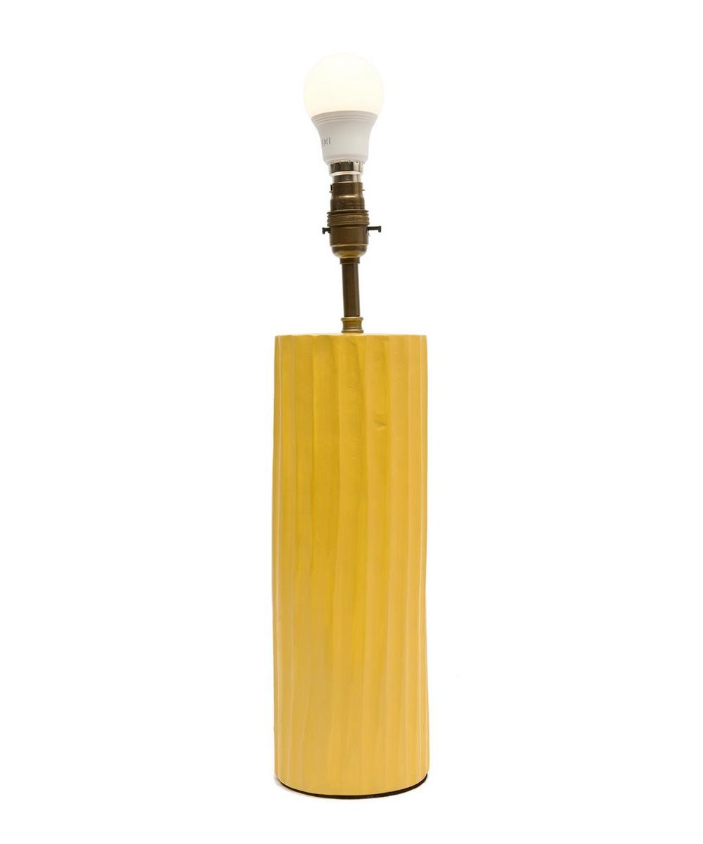Tadelakt Roman Pillar Lamp Base