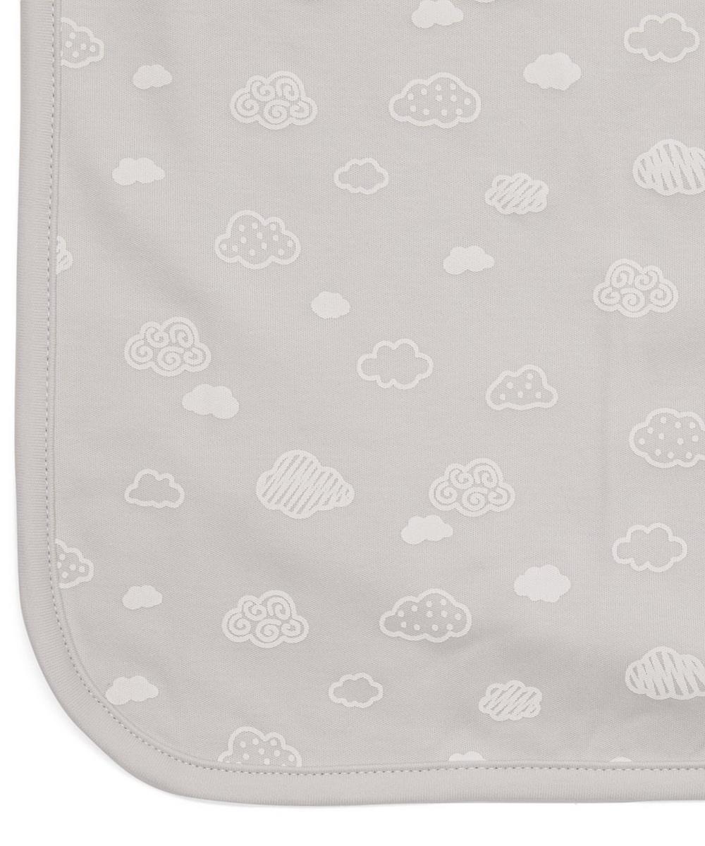 Cotton Cloud Print Blanket
