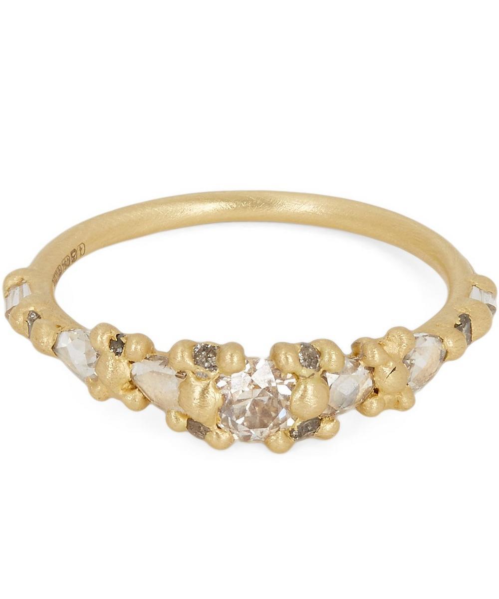 POLLY WALES Gold Marietta Diamond Ring