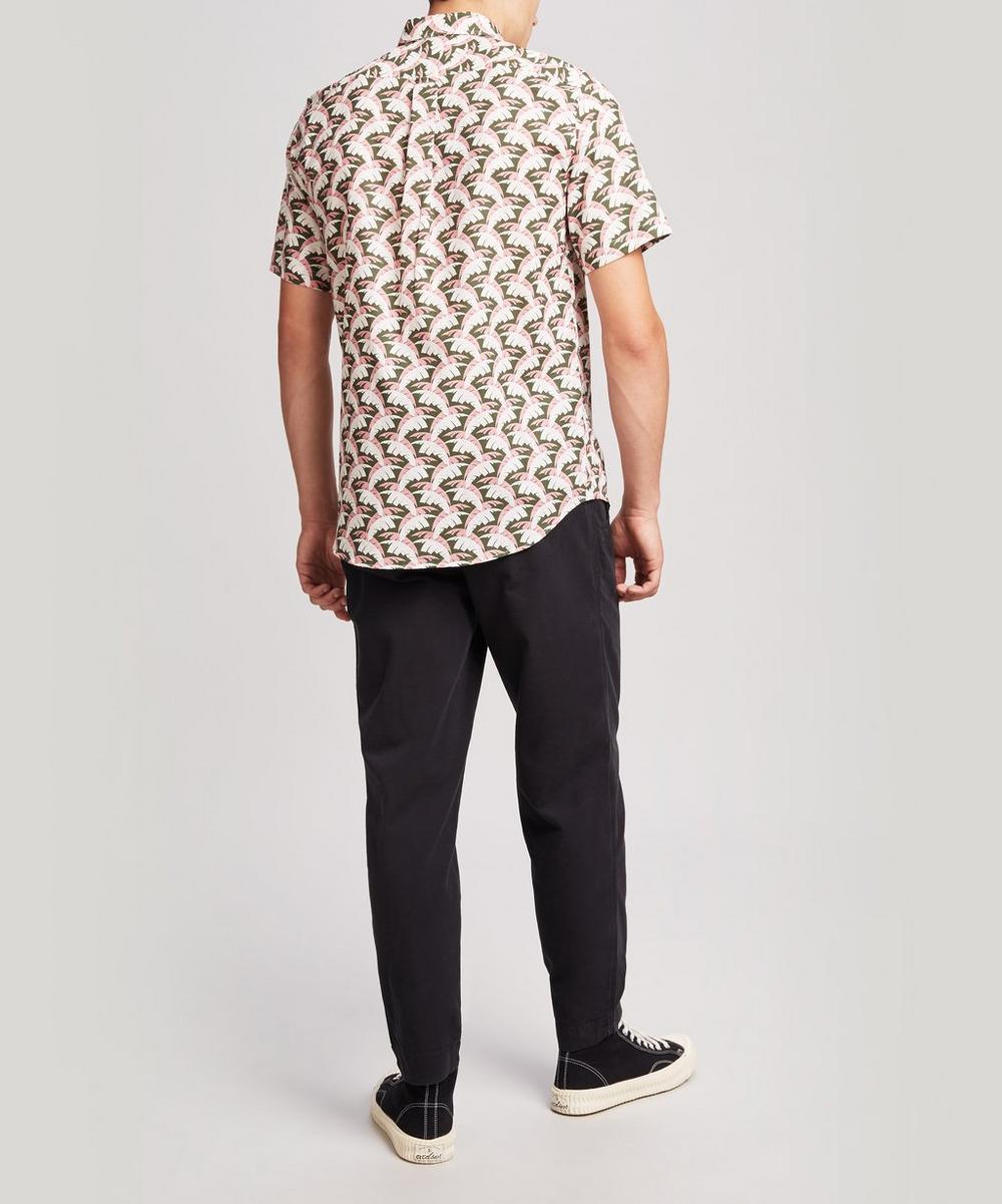 Palm Tree Men's Linen Shirt