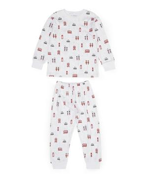 London Print Pyjama Set 8 Years