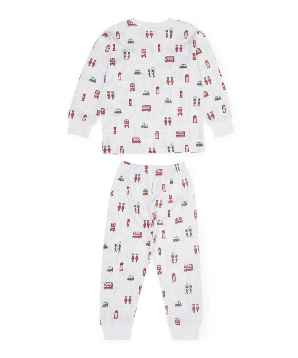 London Print Pyjama Set 8 Years