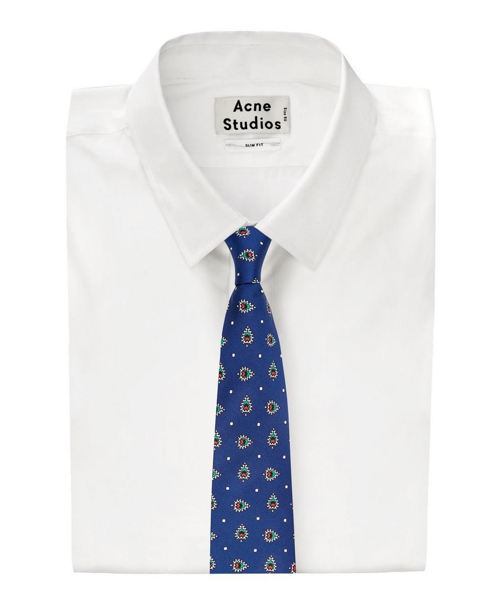 Thorington Printed Silk Tie