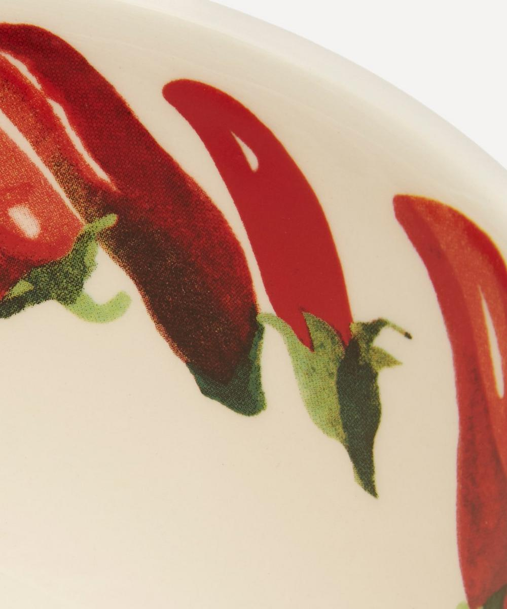 Vegetable Garden Chillies Small Old Bowl