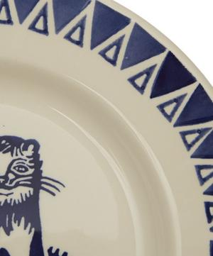 Mary Fedden Lions 8.5 Inch Plate