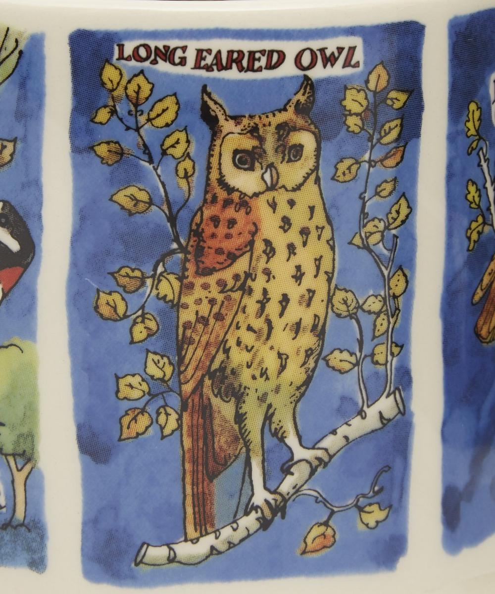 Owls and Woodpeckers Half Pint Mug