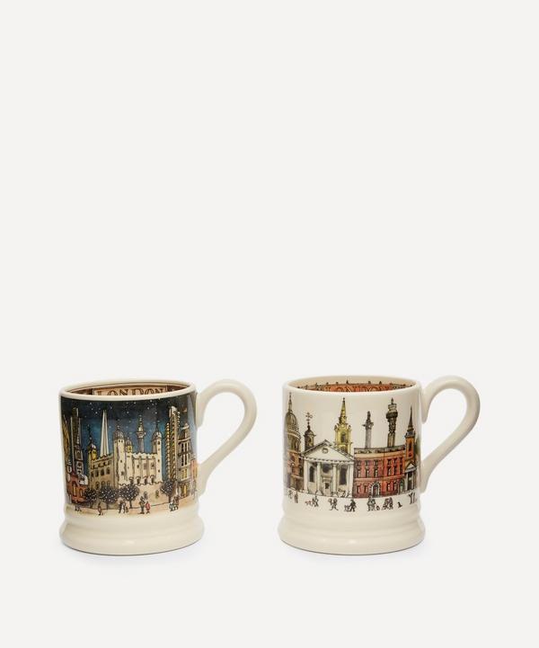 Emma Bridgewater - London Day and Night Half Pint Mugs Set of 2