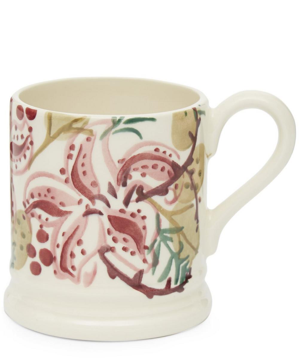 Stargazer Lilies Half-Pint Mug