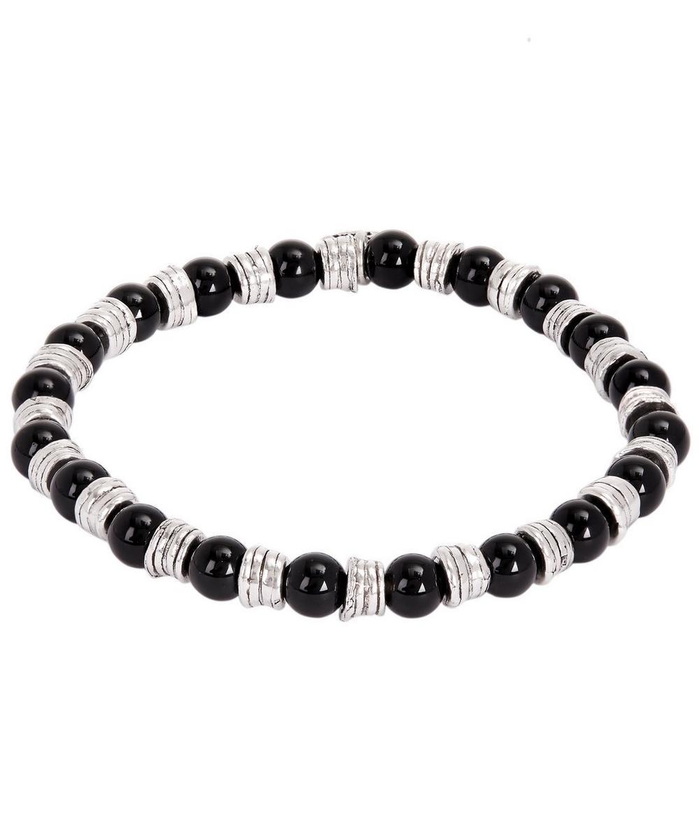 PHILIPPE AUDIBERT Bead Bracelet in Silver