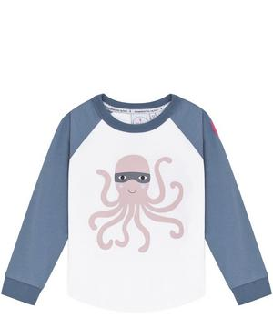 Octopus Raglan Long-Sleeve T-Shirt 1-7 Years
