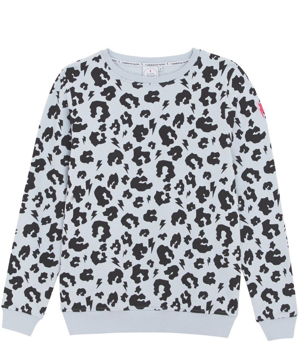 Leopard Print Adult Sweatshirt XS-XL