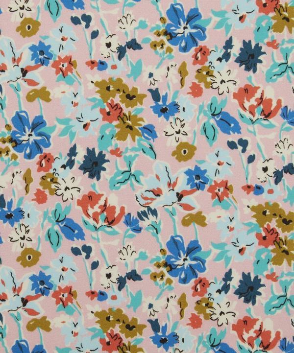 California Bloom Silk Satin
