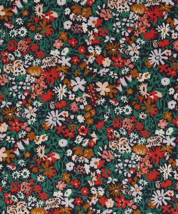 Floral Affair Silk Satin