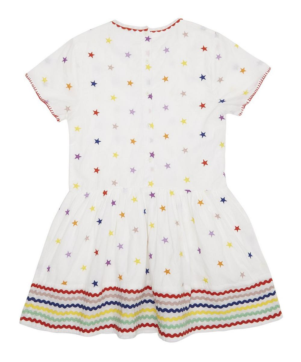 Embroidered Star Dress 2-8 Years