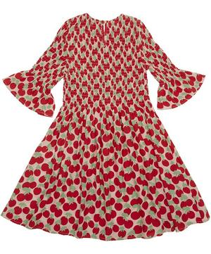Cherry Smock Dress 2-8 Years