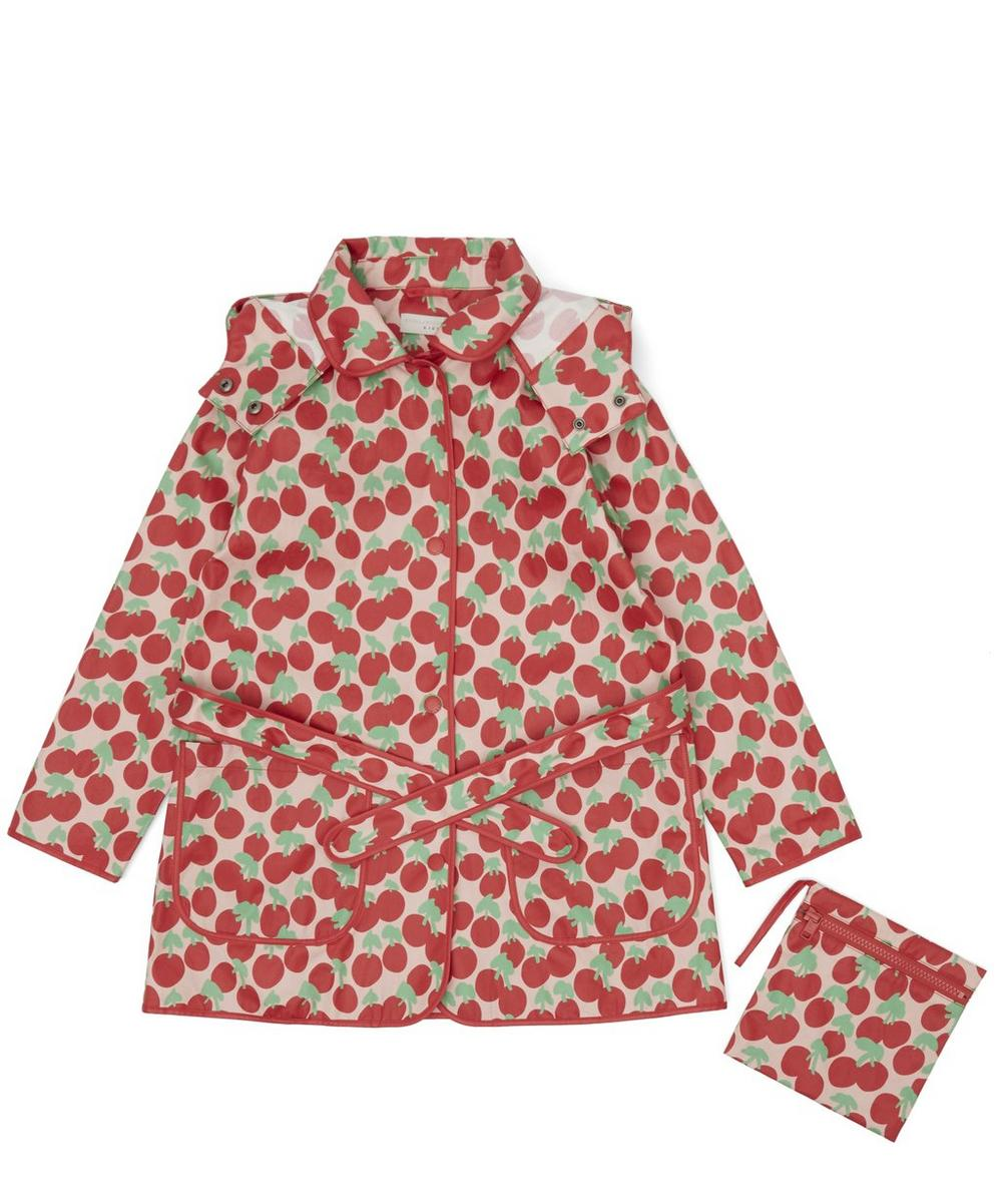 Cherry Print Raincoat 3-8 Years