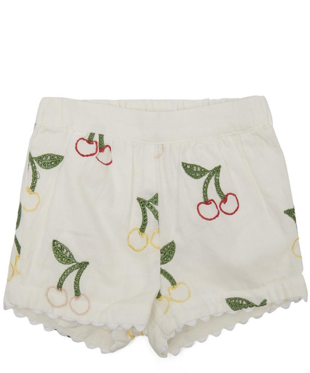 Cherry Print Shorts 3 Months-24 Months