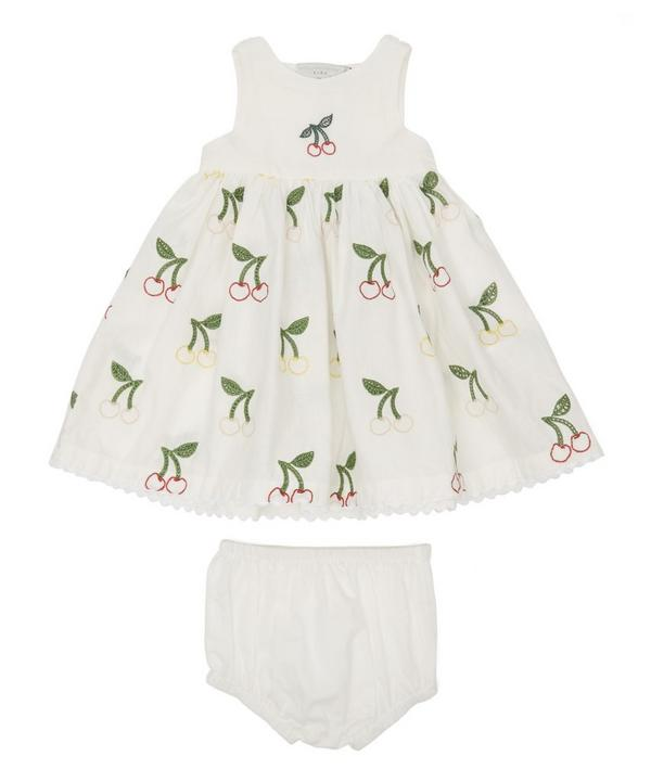 0505e2d07ee Embroidered Cherry Dress with Bloomers 3 Months-2 Years ...