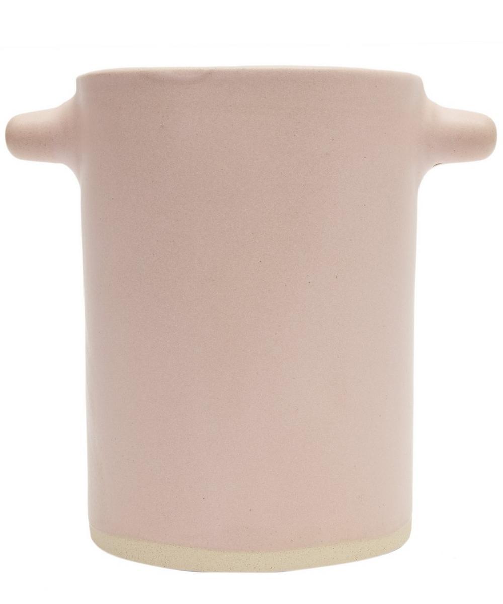 Clay Beetroot Utensil Pot