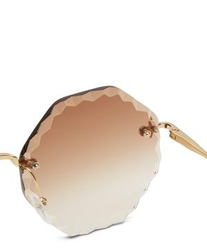 Poppy Hexagon Sunglasses