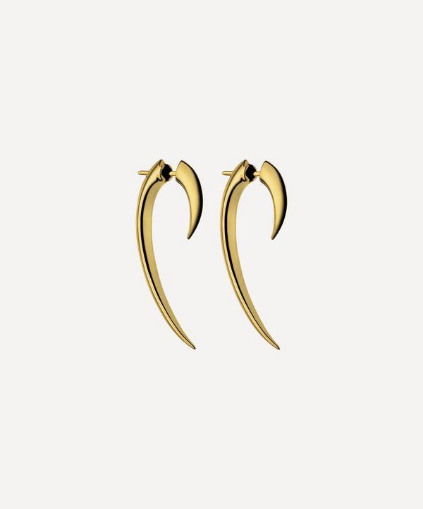 Shaun Leane - Gold Plated Vermeil Silver Hook Earrings