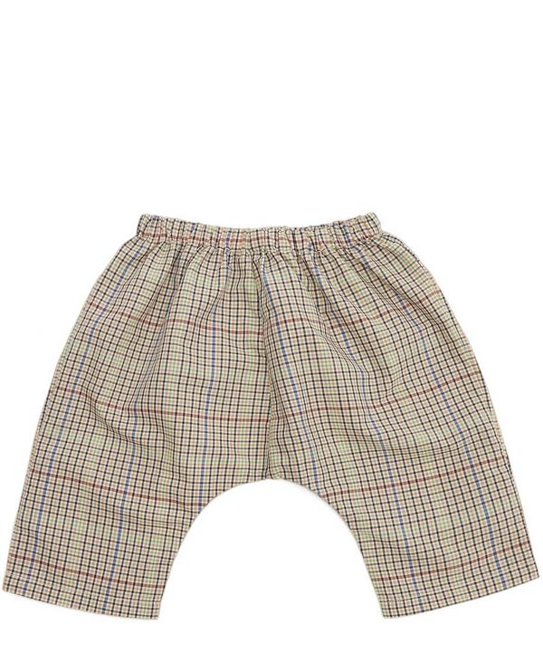 Magnolia Check Trousers 6 Months-2 Years