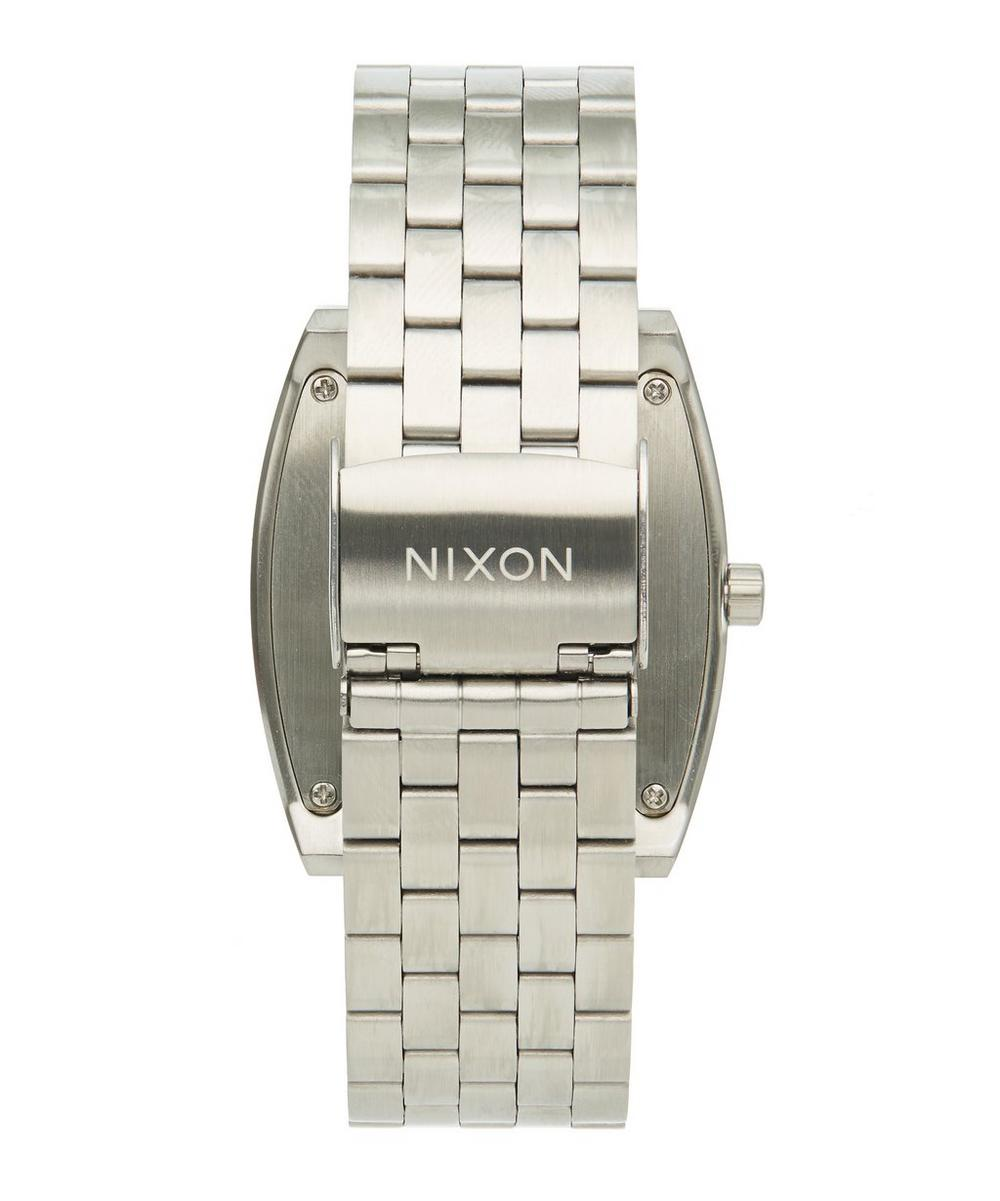 Stainless Steel Time Tracker Watch