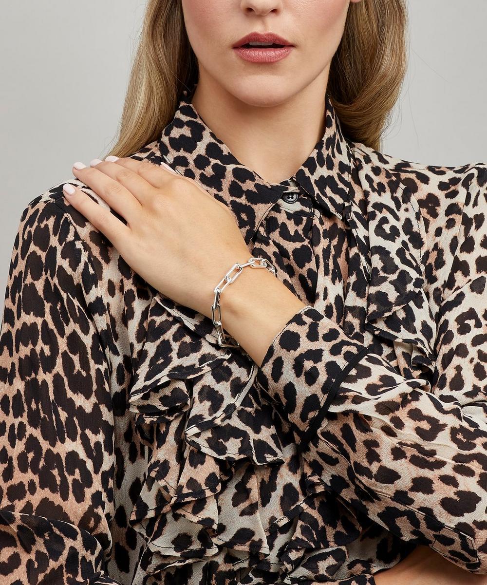 Silver Alta Capture Charm Bracelet