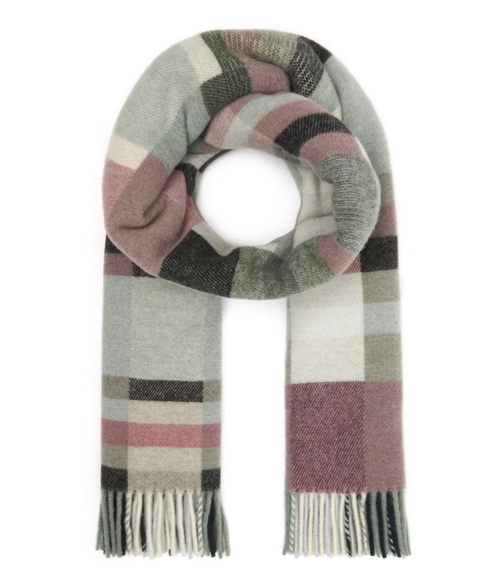 Tableau Wool-Blend Scarf