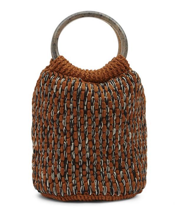 Praia Crochet Bucket Bag