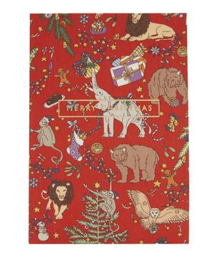 Tana Lawn™ Cotton Covered Liberty Christmas Print Card